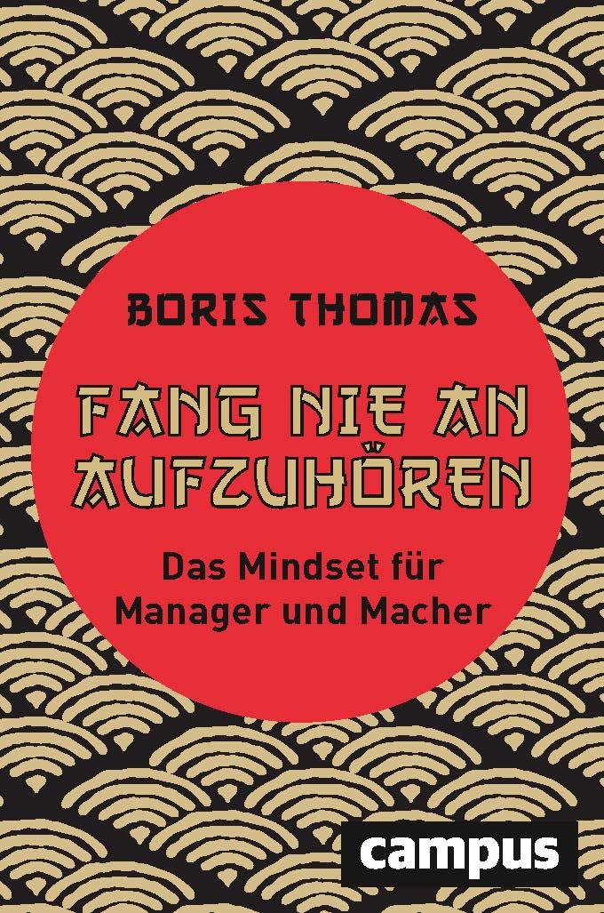 """""""Fang nie an aufzuhören"""" - Der neue Buch von Boris Thomas - jetzt im Handel!"""