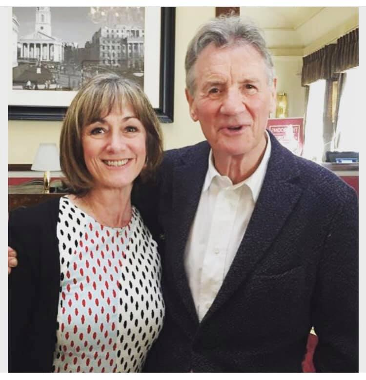 Me and the legend that is Sir Michael Palin.