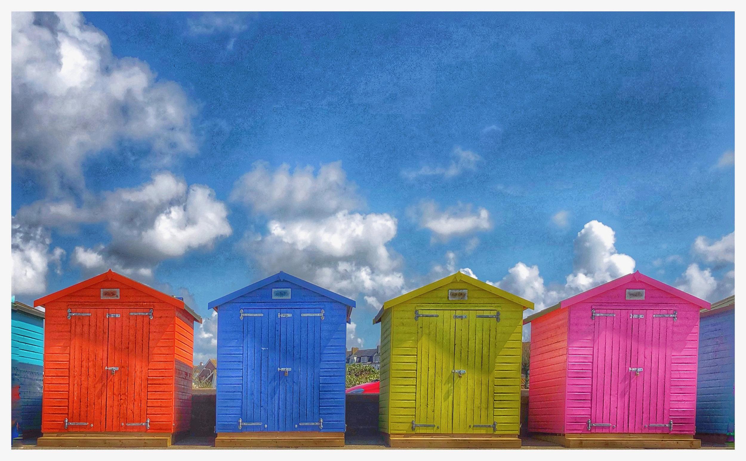 I do love a beach hut..