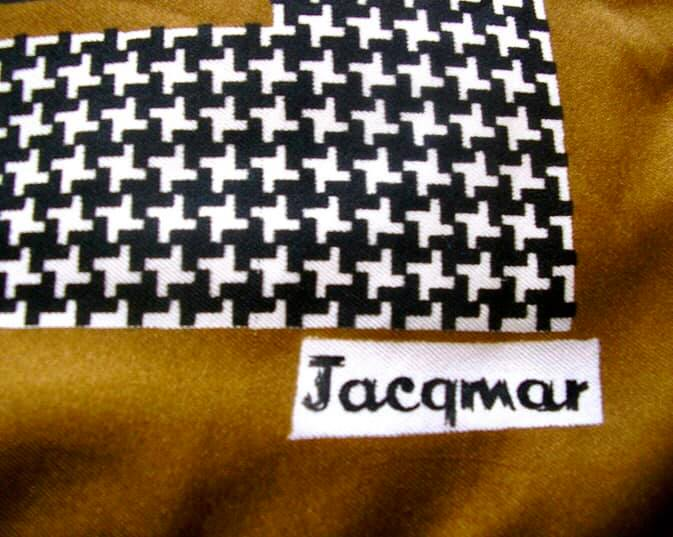 My mother's signature for Jacqmar.