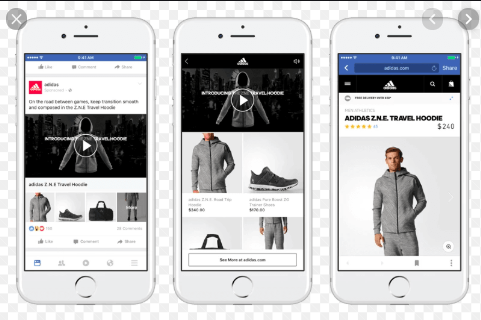 Collection Ads + FB instant experience