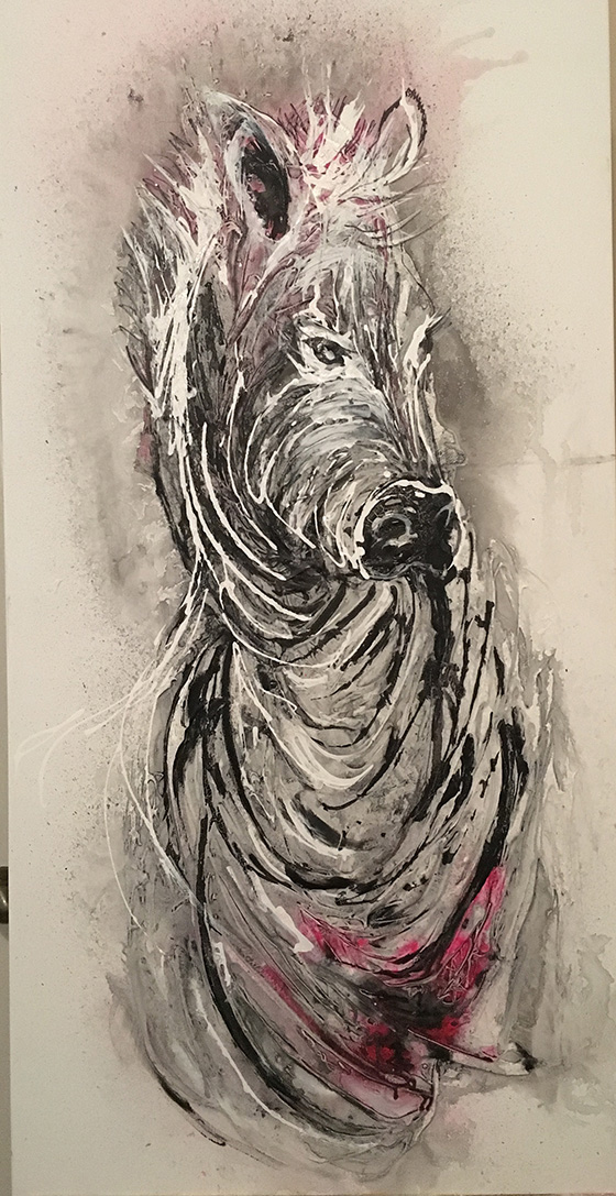 Zebra © 2018 Merry Renert | All Rights Reserved