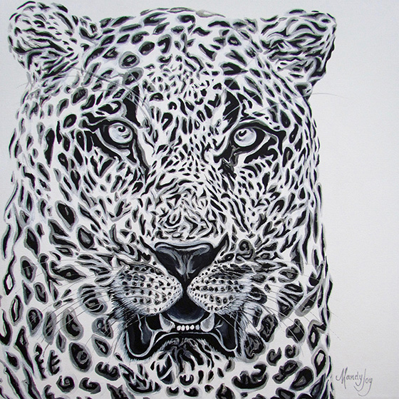 Mighty Leopard © 2018 Mandy Joy | All Rights Reserved