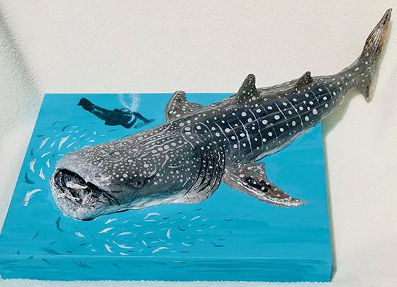 Diver's Dream: Whale Shark © 2018 Lisa Kozel Noel | All Rights Reserved
