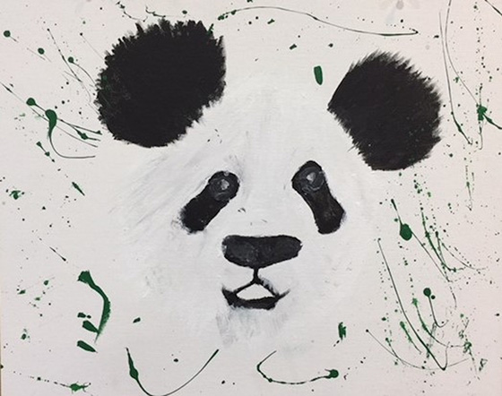Just a Panda © 2018 Kimberleigh Johnston | All Rights Reserved