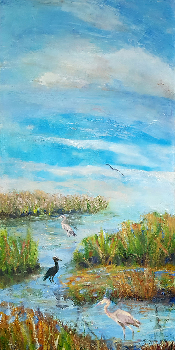 Wetlands © 2018 Deborah Simon   All Rights Reserved
