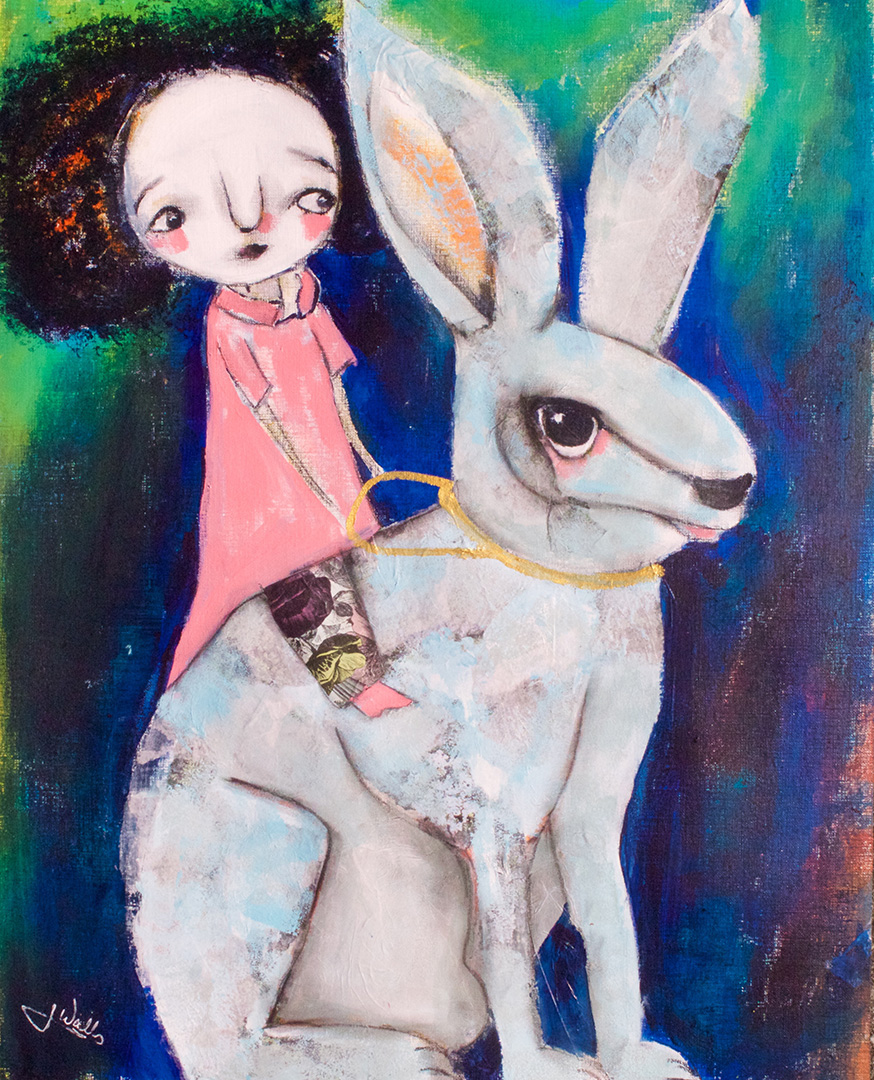 Rabbit Rider © 2018 Jen Walls | All Rights Reserved