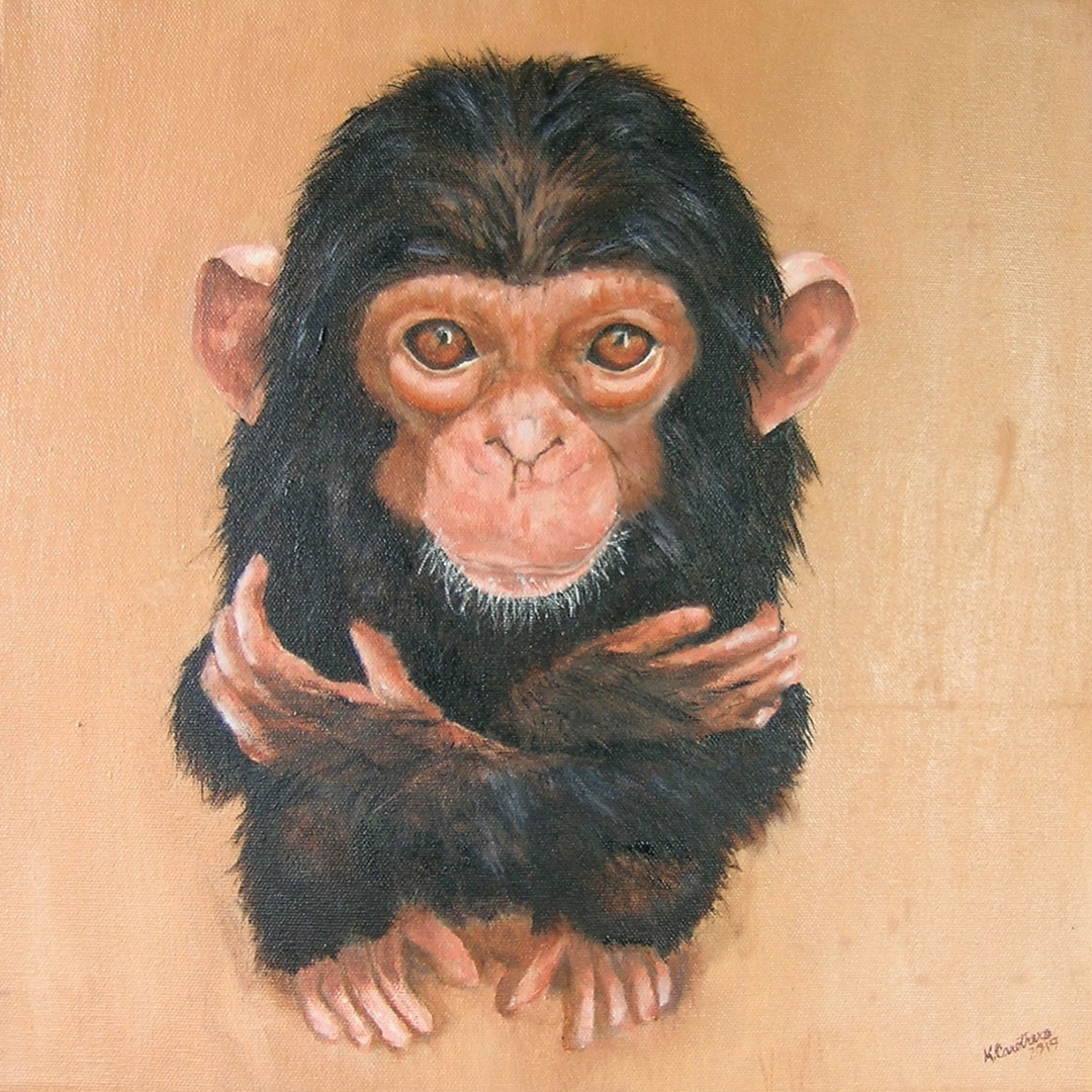 A Chimp's Request © 2019 Kathy Carothers | All Rights Reserved