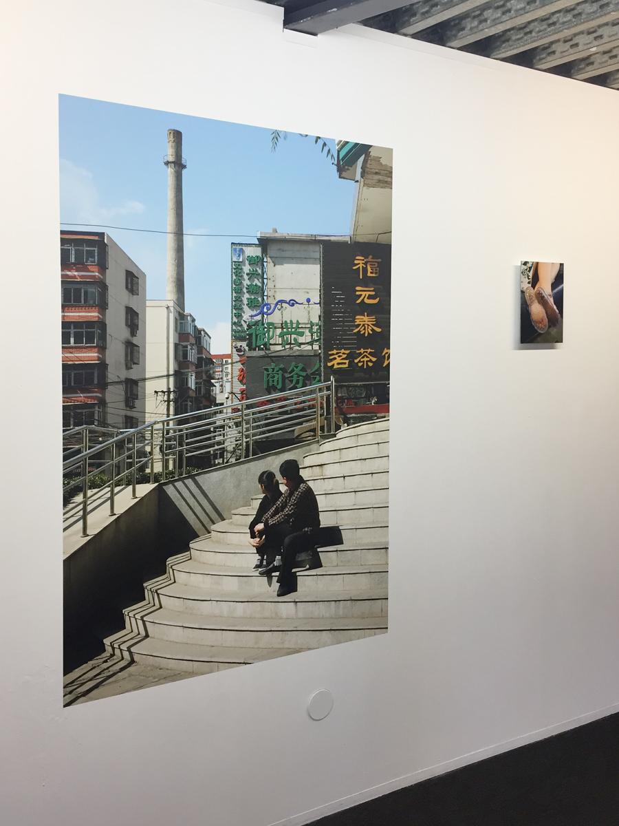 """""""La Cité d'Images"""", galerie Le Bleu Du Ciel, Lyon, 2018."""