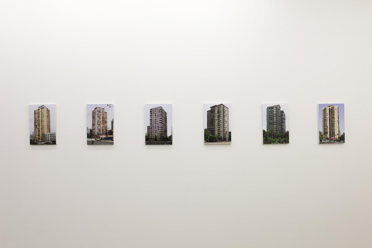 """""""Concrete/Buildings"""", galerie Alain Gutharc, Paris, 2013."""