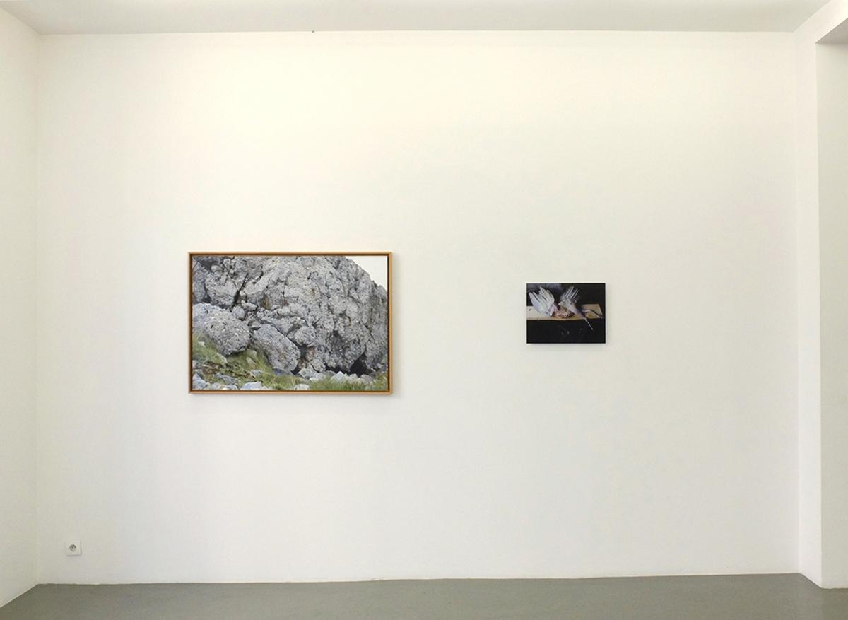 """""""Paradise Can Wait"""", galerie Alain Gutharc, Paris, 2017."""