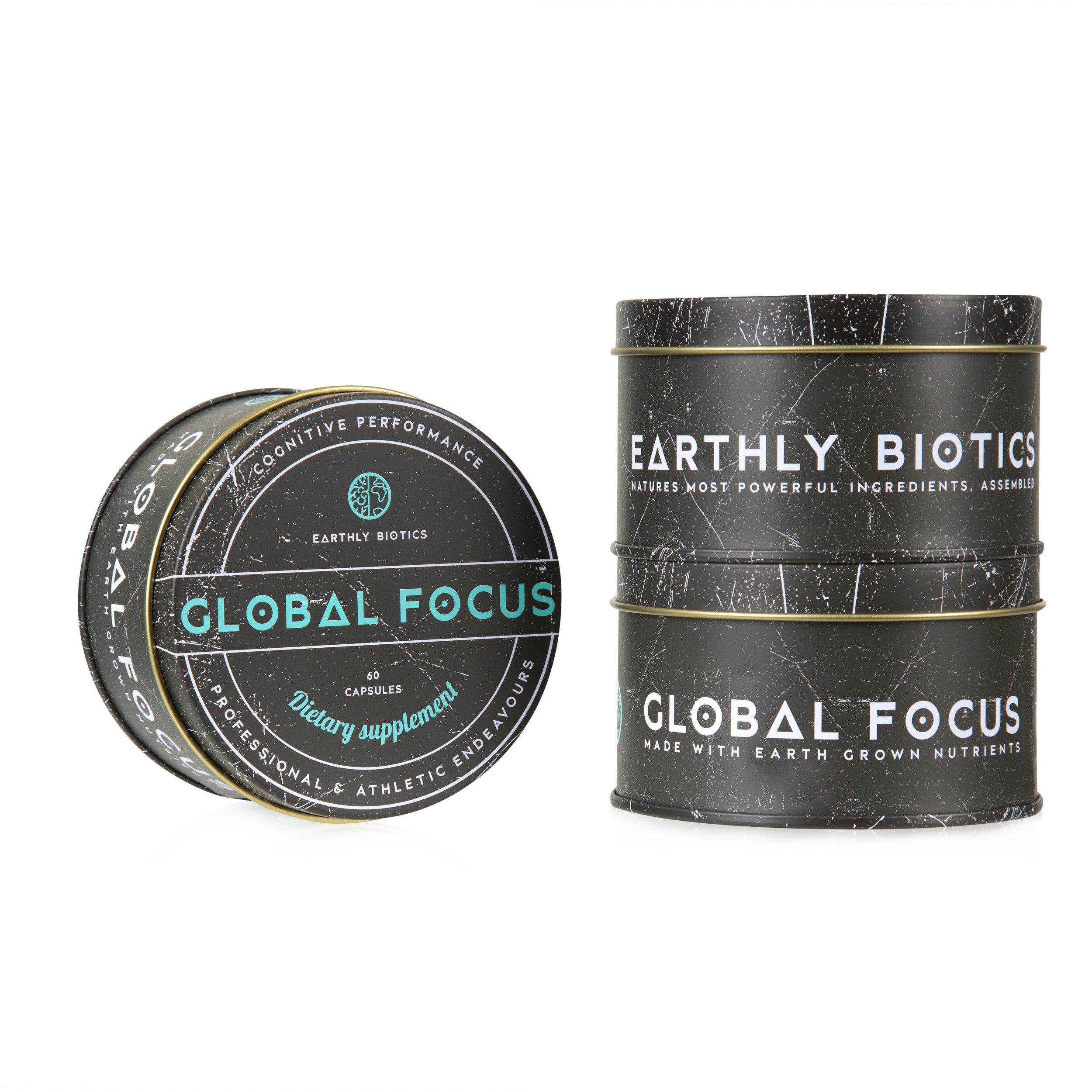 Best Smart Supplement the Global Focus Nootropic by Earthly Biotics