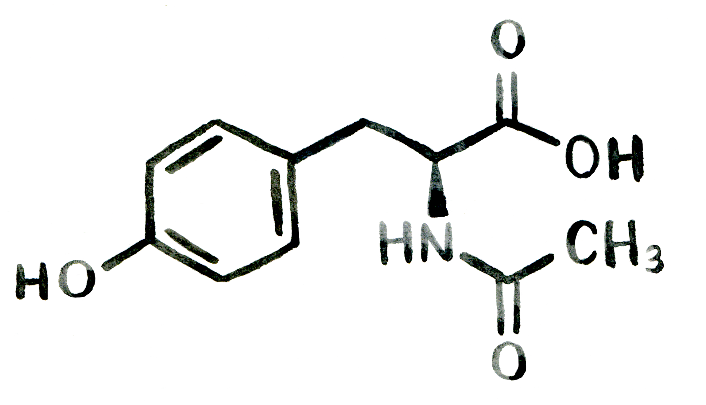 Structure-3-N-Acetyl L-Tyrosine.png