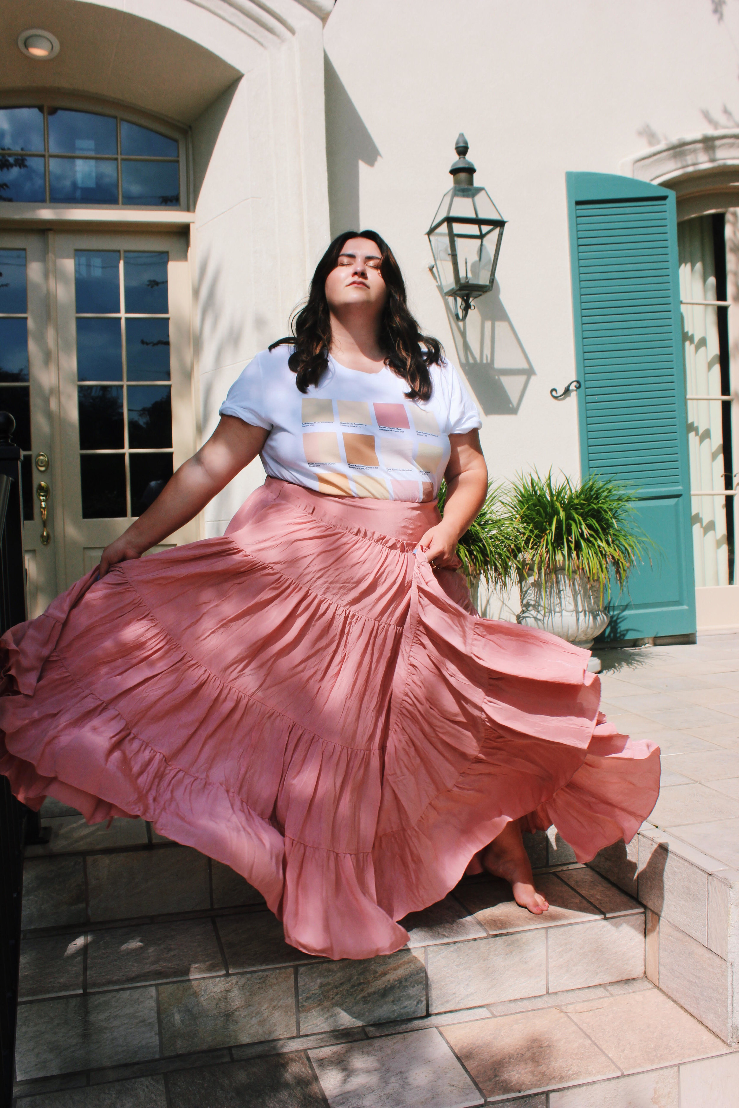 Photo courtesy of Sydney. Wearing an Edith Young for Rachel Antonoff shirt and a 3.1 Phillip Lim skirt.