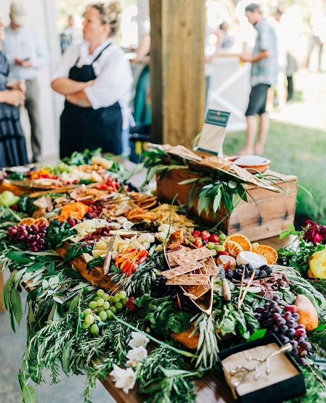 All the good stuff on this grazing table from @bodaskitchen 🧡 #weddingsintheorchard⁠ .⁠ .⁠ .⁠ Photo: @viktoriyabogdanovaphotography ⁠ .⁠ .⁠ .⁠ #gorgewedding #hoodriverwedding #oregonwedding #washingtonwedding #farmtotable #farmwedding