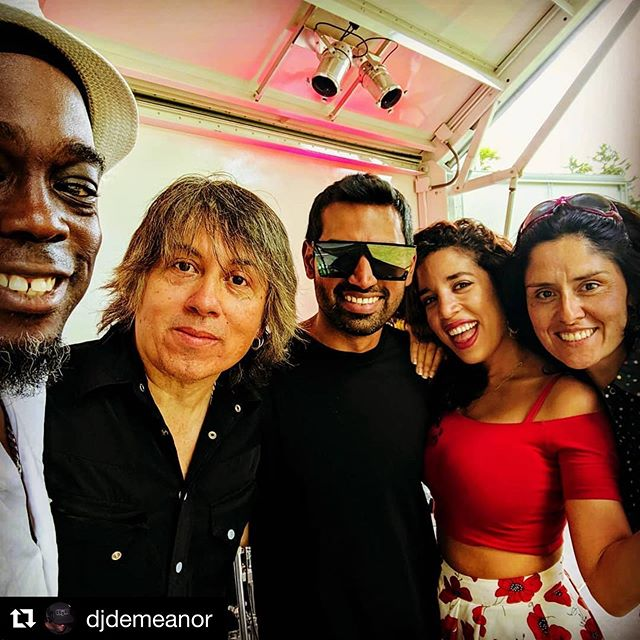It was a super pleasure to meet you @djdemeanor and to play at Tapestry of Taste in East Gwillimbury, ON. 💃🏻 #tot2019
