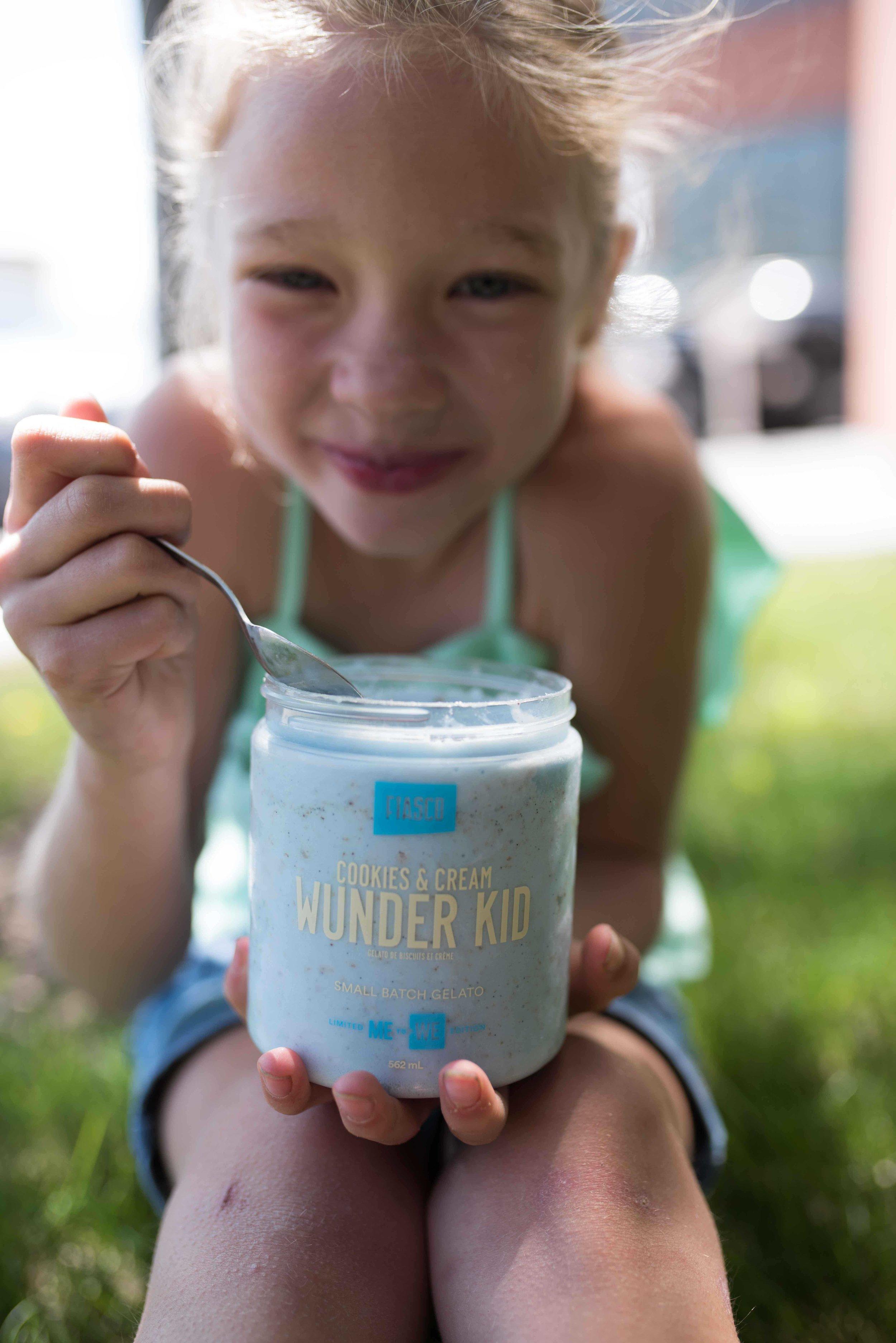 ME to WE - WUNDER KIDCookies et crème gelato