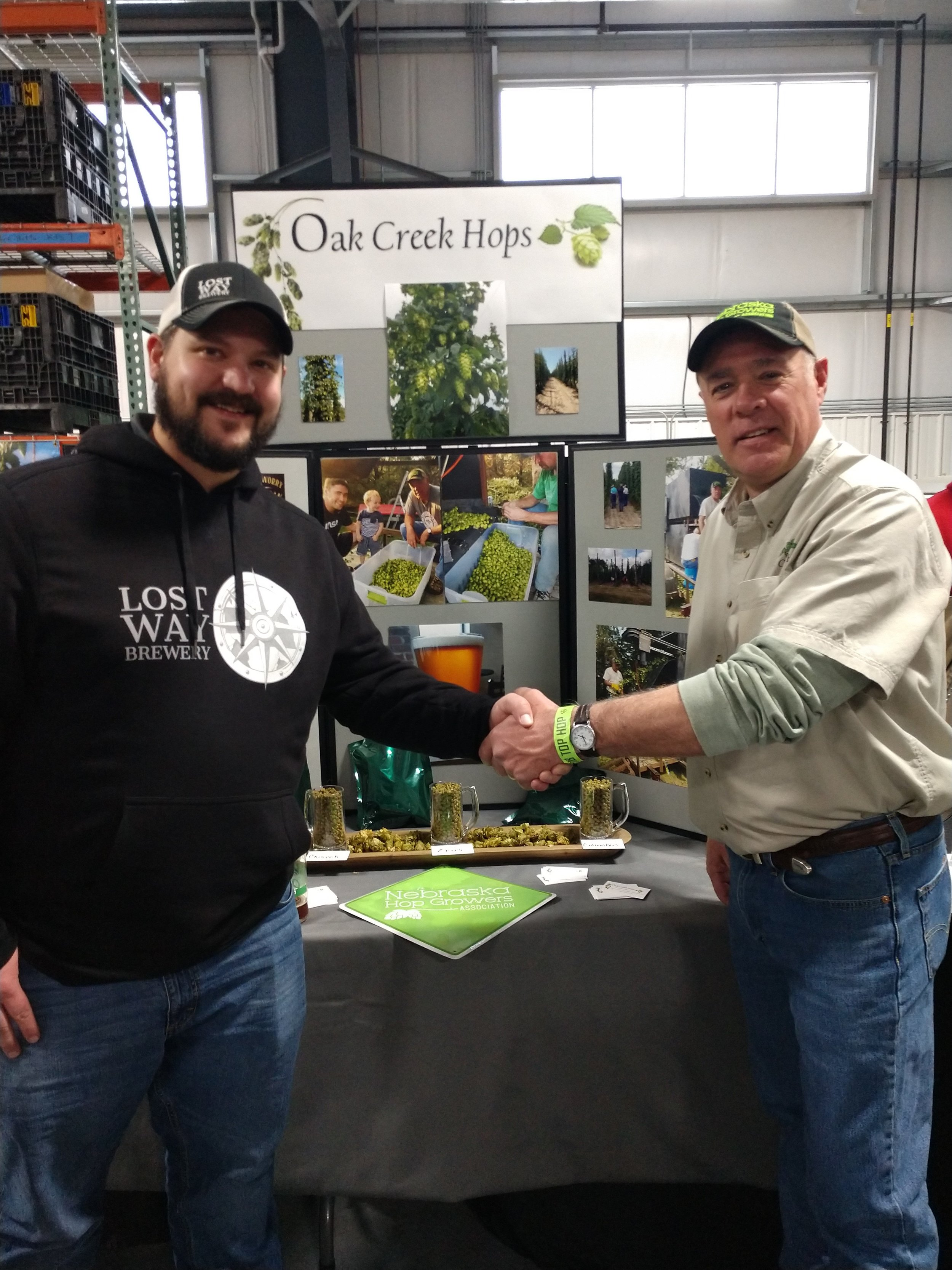 2018 Top Hop - Jason Hines (Lost Way Brewery, Holdrege, NE) & Dave Gleason