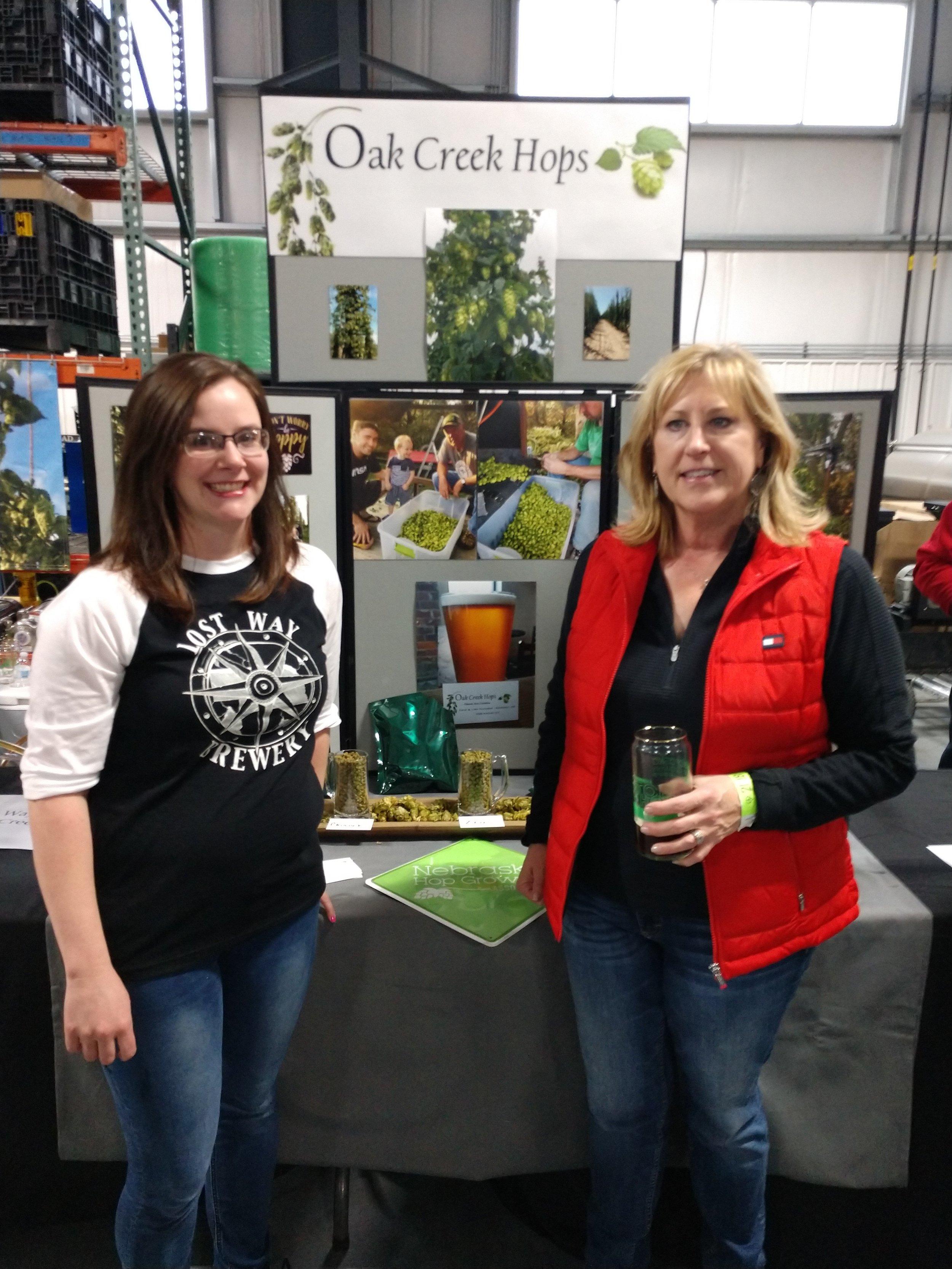 2018 Top Hop - Kimberly Hines (Lost Way Brewery, Holdrege, NE) & Lisa Gleason