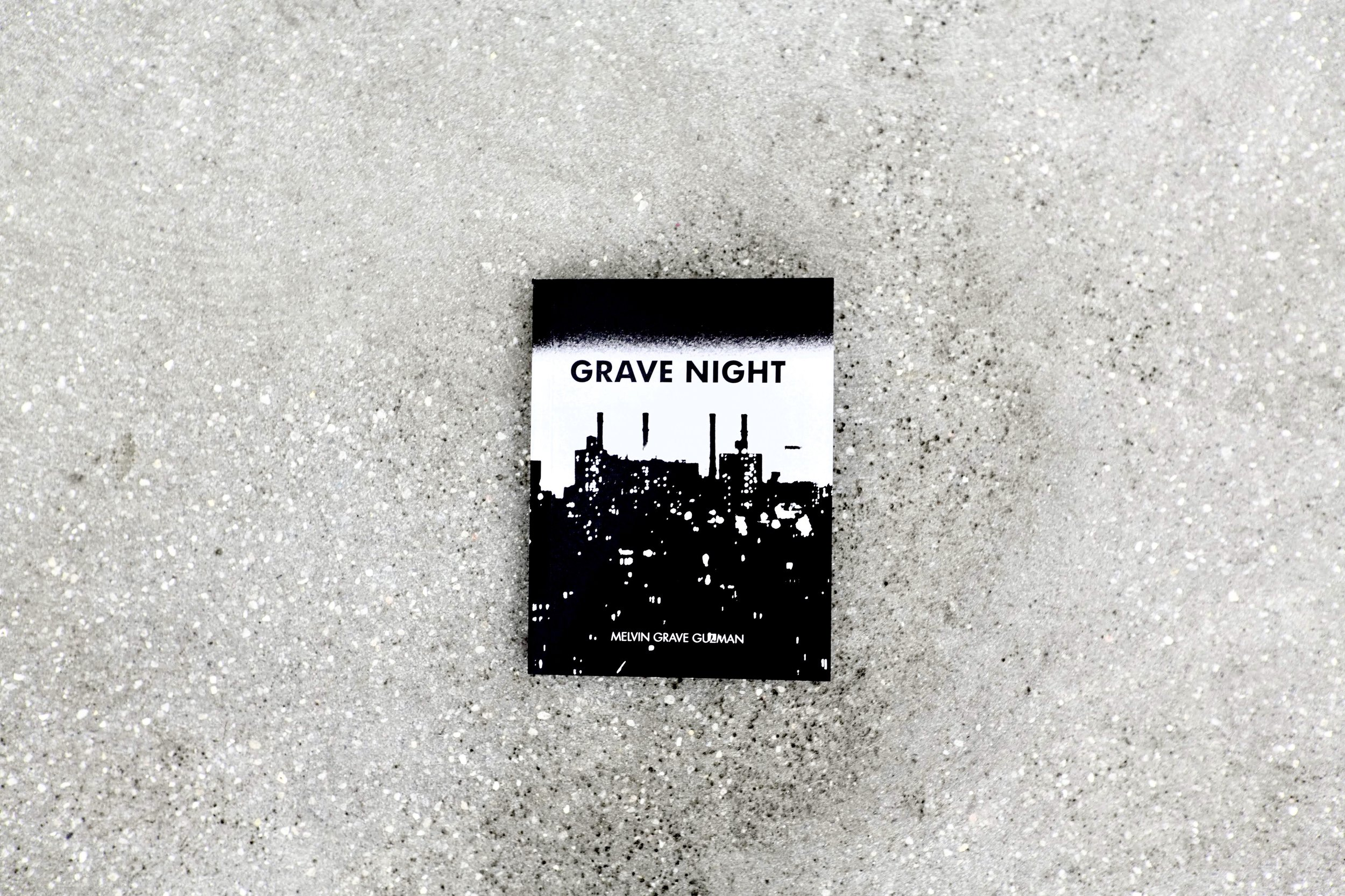 Melvin (Grave) Guzman GRAVE NIGHT, 2018 6 x 4.5 inches,  235 pages 50.jpg