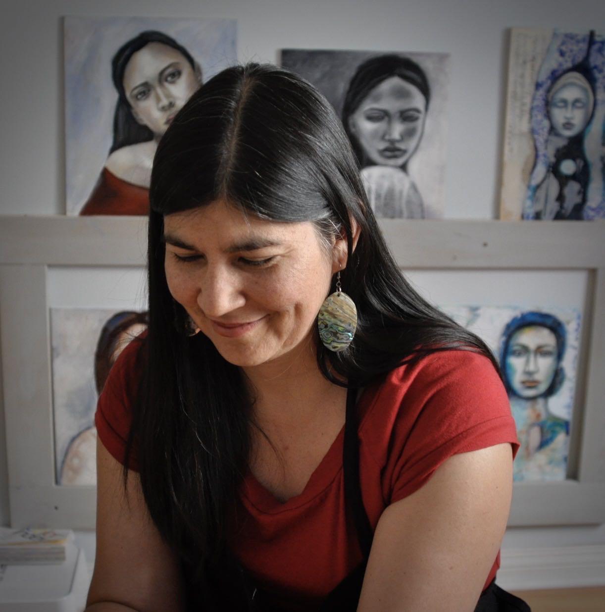 Melanie Rivers artist and teacher