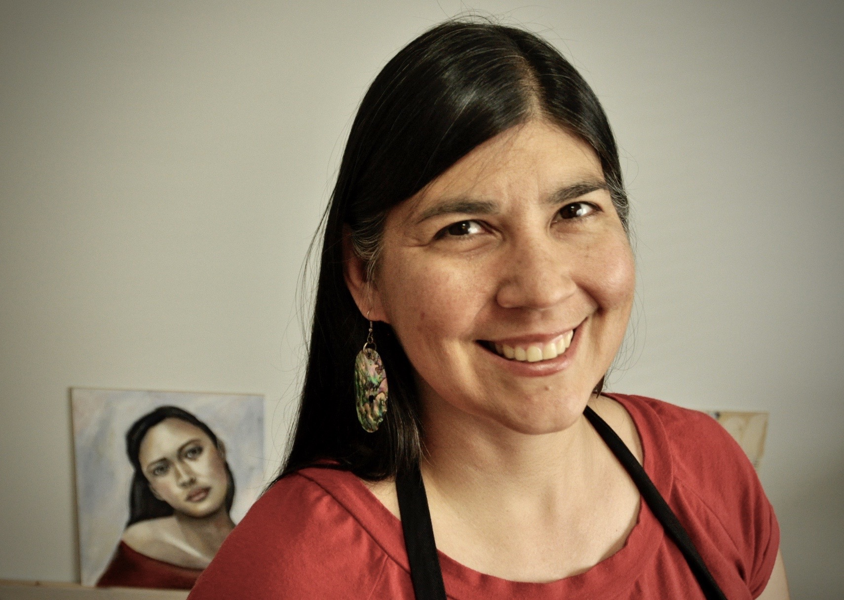 Melanie Rivers, Indigenous mixed media artist and teacher