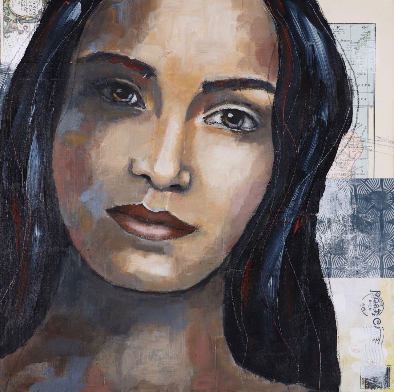 Journey, Art Lesson by Melanie Rivers