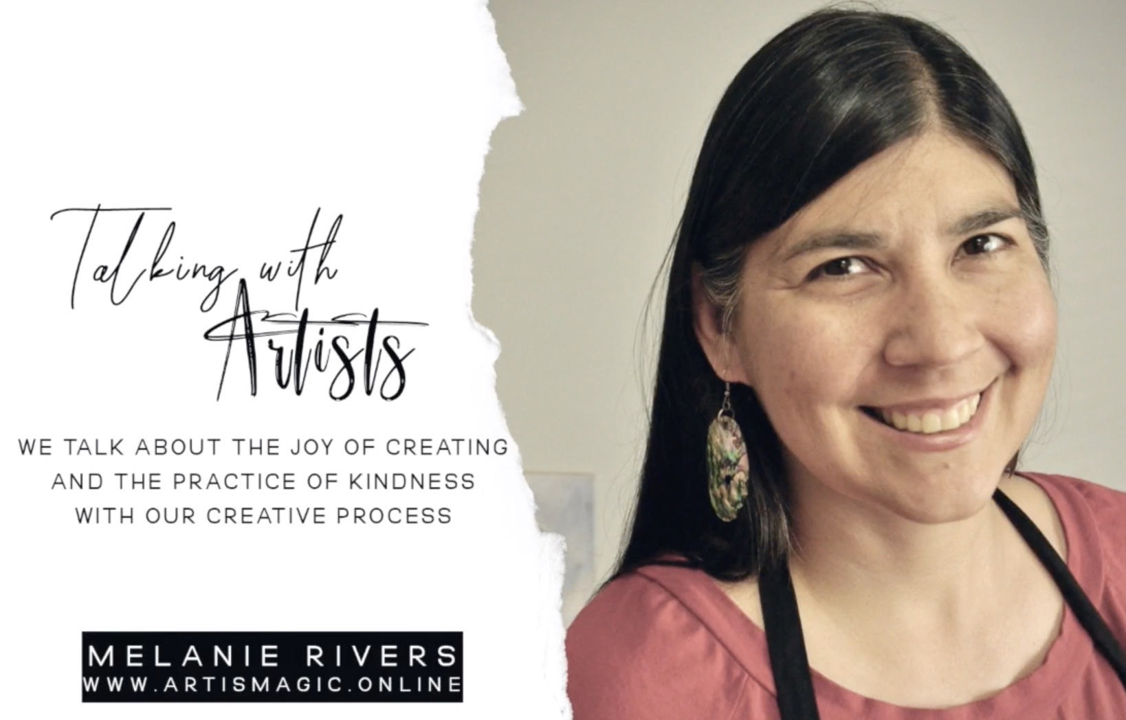 Artists Interview with Melanie Rivers: Make Create Express, an online art and creativity course