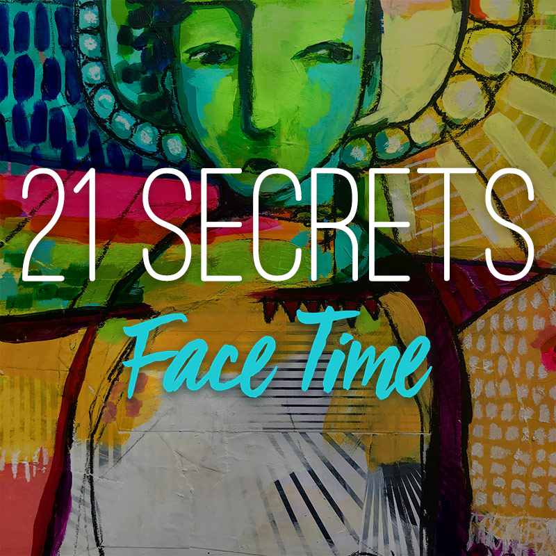 21 Secrets Face Time, an online art and creativity course