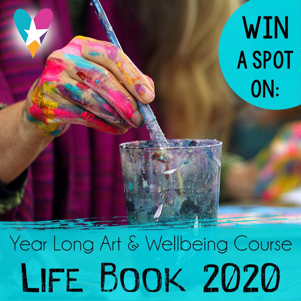 Life Book 2020: mixed media art journal course