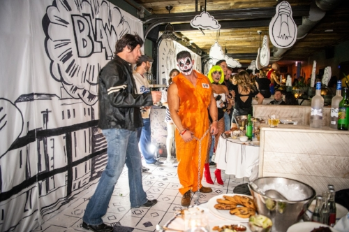 SOHO Halloween 2018 Cartoon Room