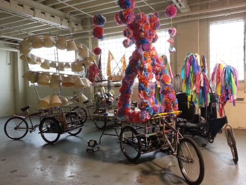 Cargo Parade Bikes for Opera-Matic