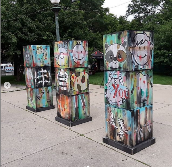 You Be You   - Interactive sculpture for Logan Square Arts Festival 2019
