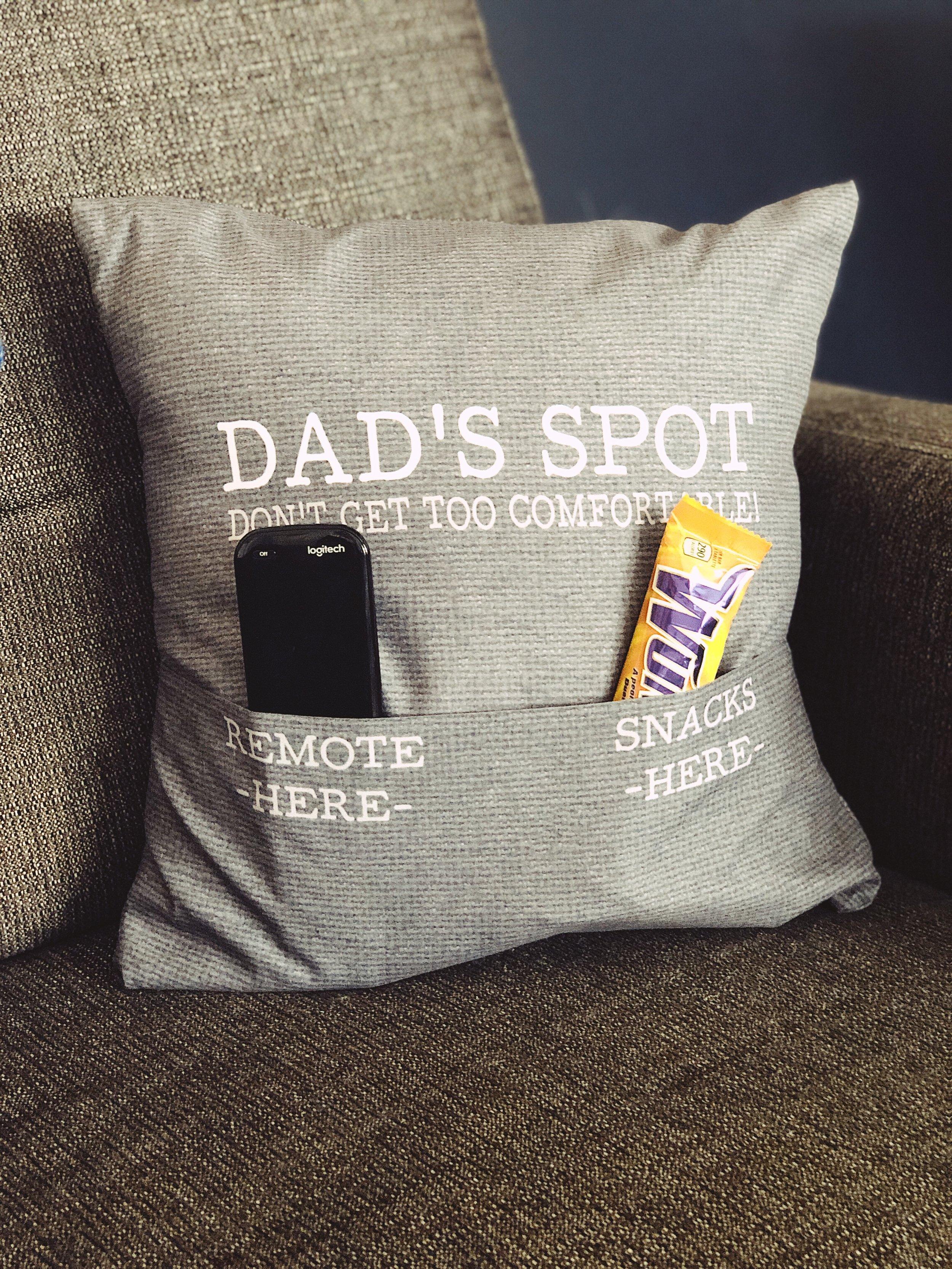 For Him Pocket Pillow