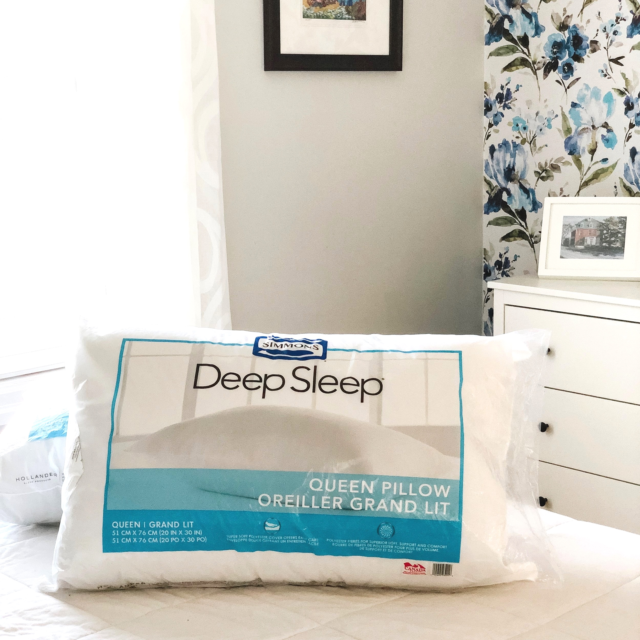 Simmons Deep Sleep Pillows $8/ea