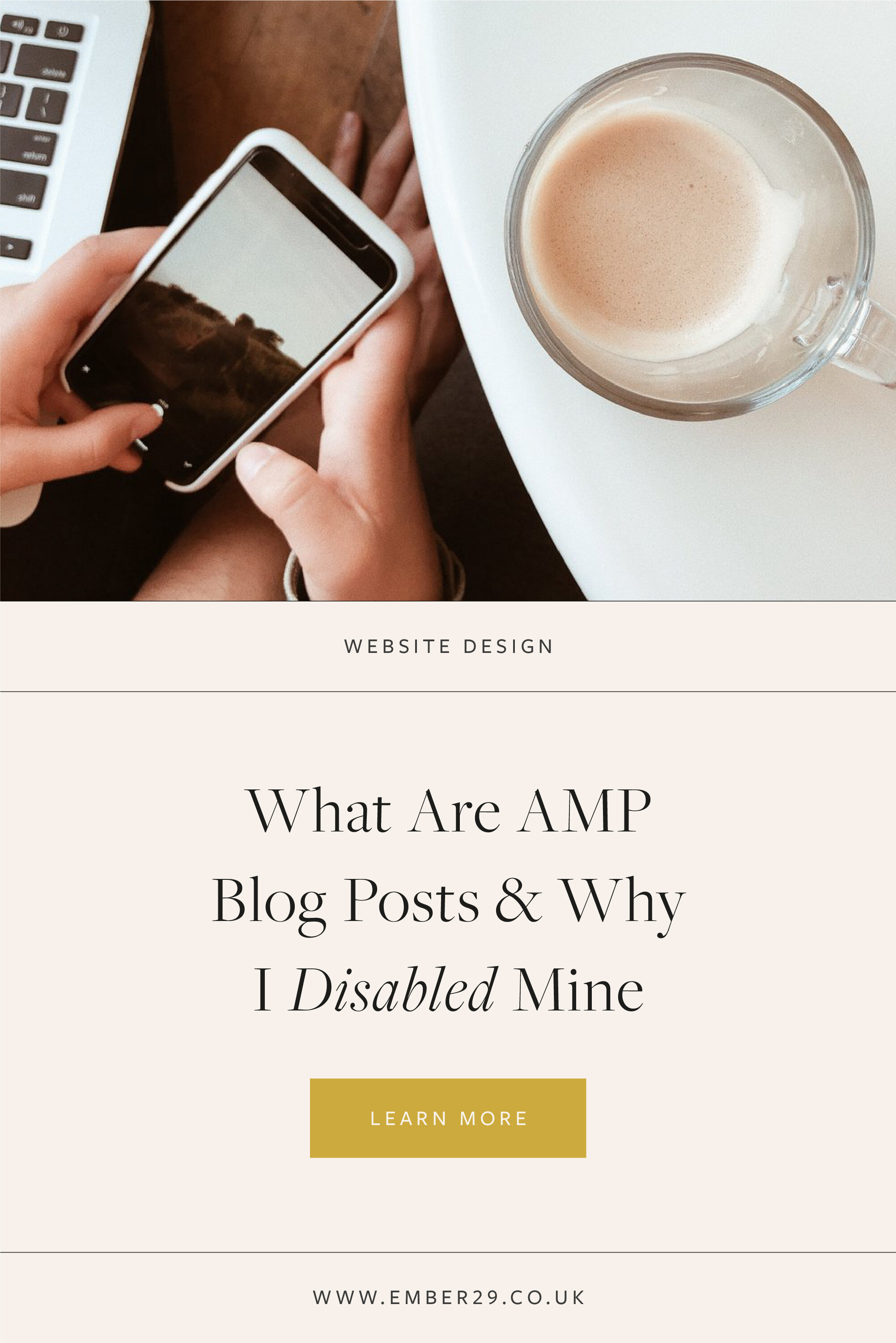 What are AMP Blog Posts & Why I Disabled Mine