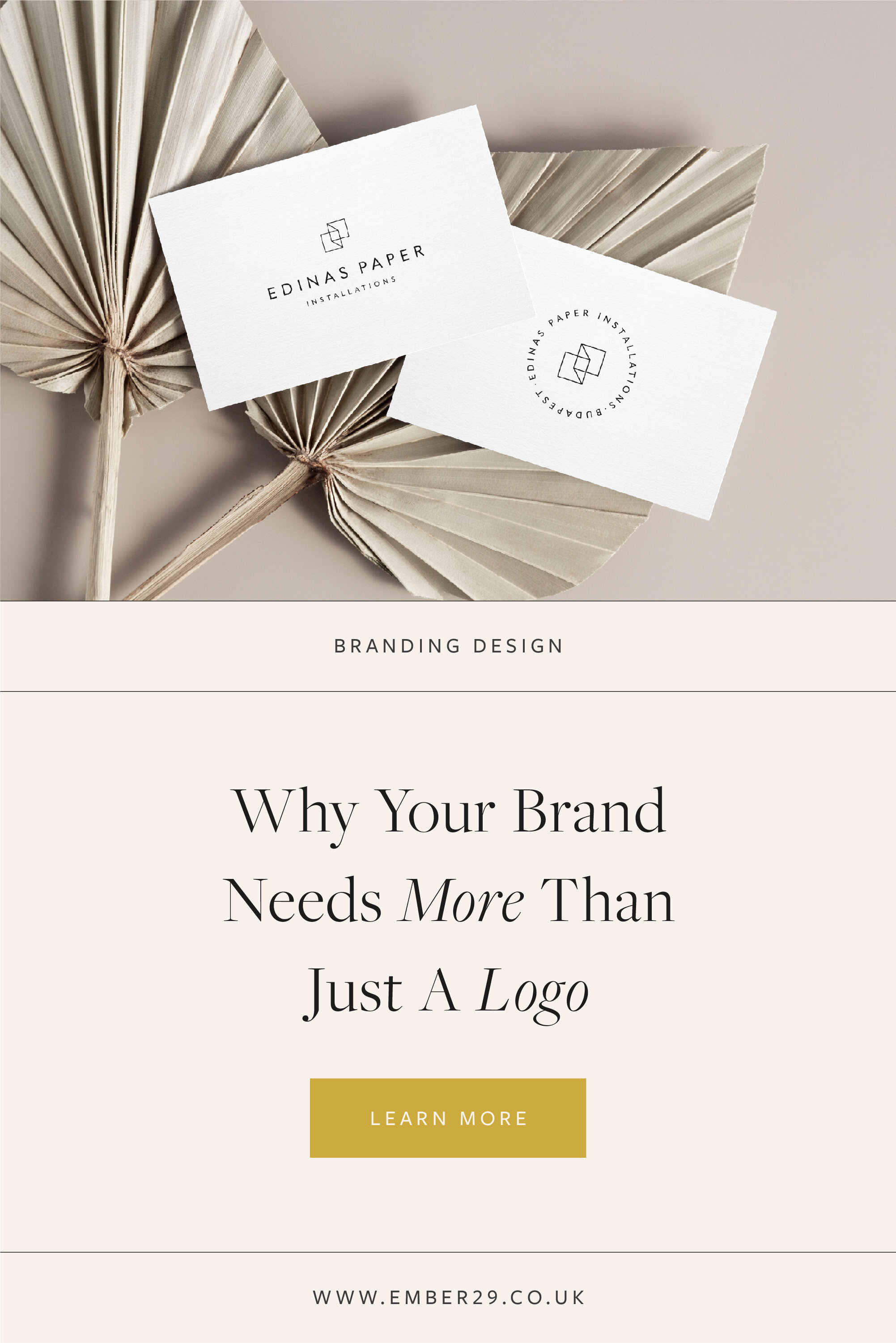 Why You Need More Than Just A Logo