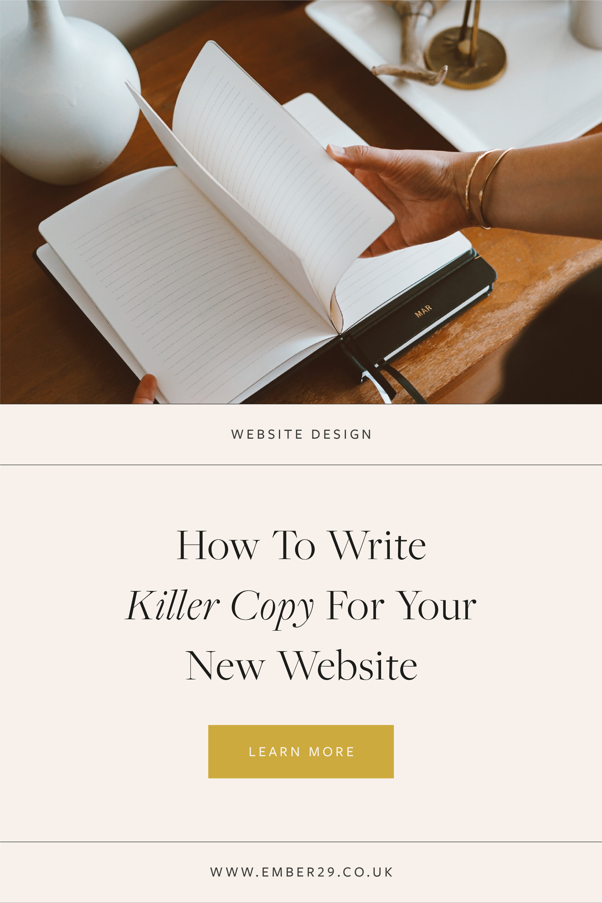 Writing Killer Copy For Your Website