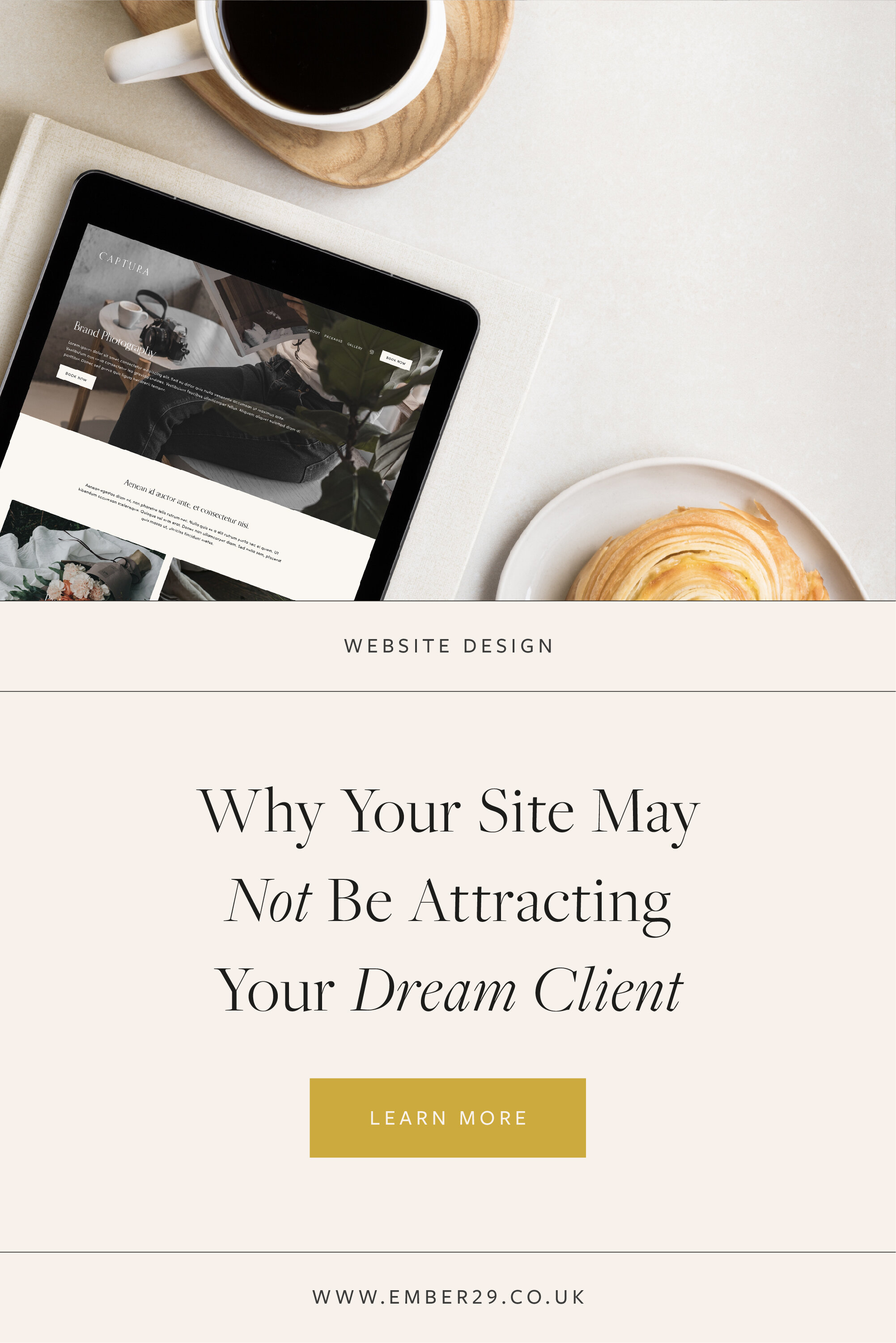 Why Your Site May Not be Attracting Your Dream Client