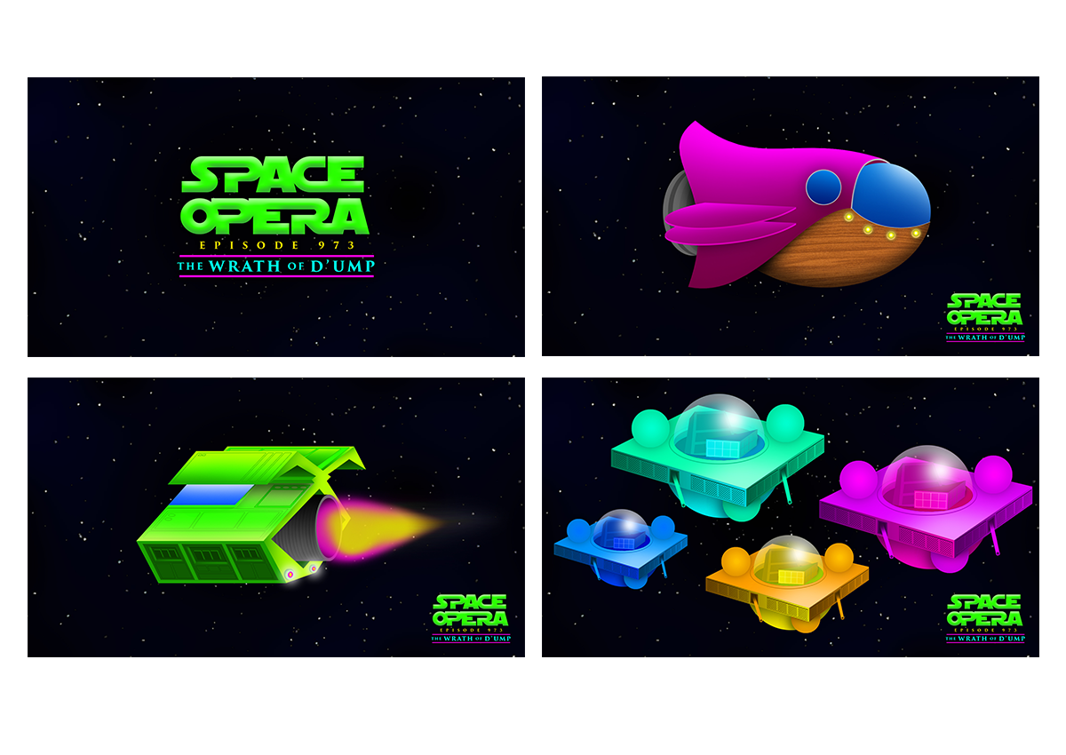 Space Opera concept art (2017)
