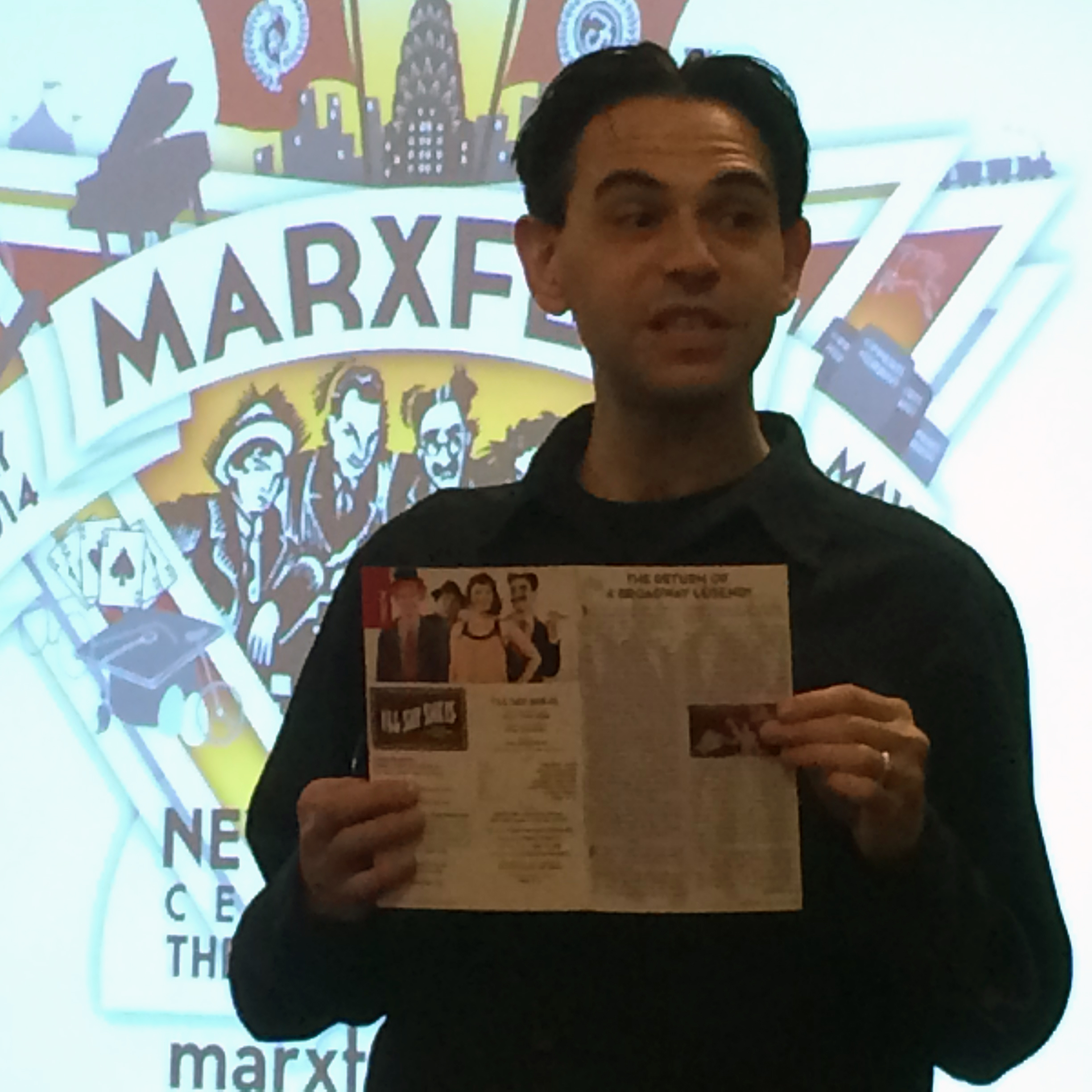 The Marxes of Yorkville: Lecturing on the Brothers' early years at the 96th Street Library.