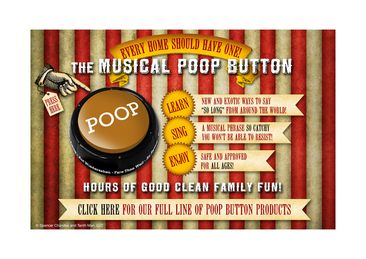 Musical Poop Button