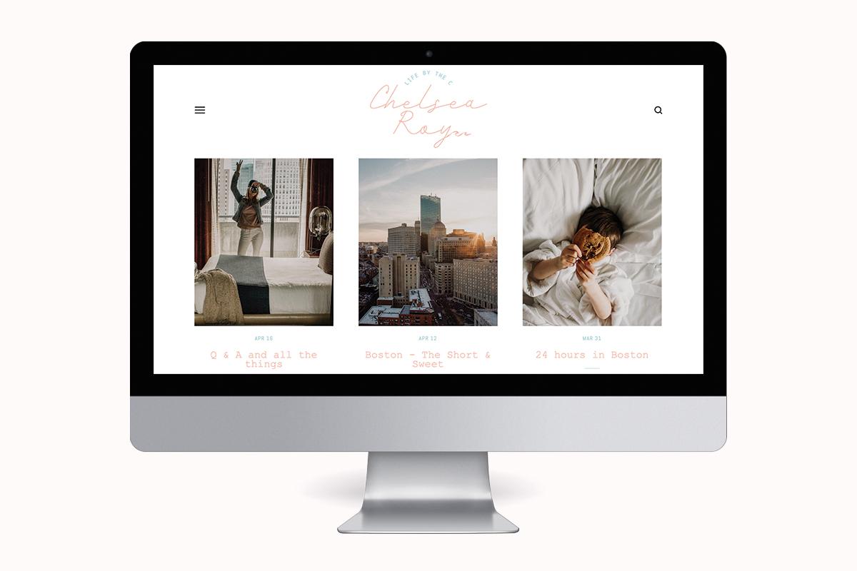 Chelsea Roy Logo Design & Blog Update
