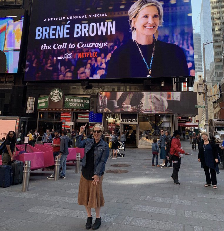 Brené Brown didn't get to Netflix on a whim. PR is a long game.