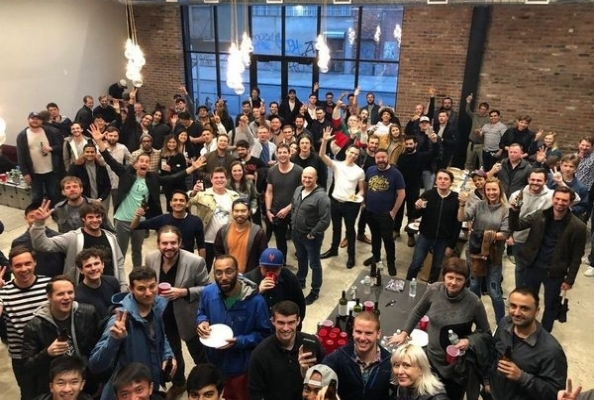 FOAM.space organized TCR (token curated registry) party during blockchain week in March 2018.