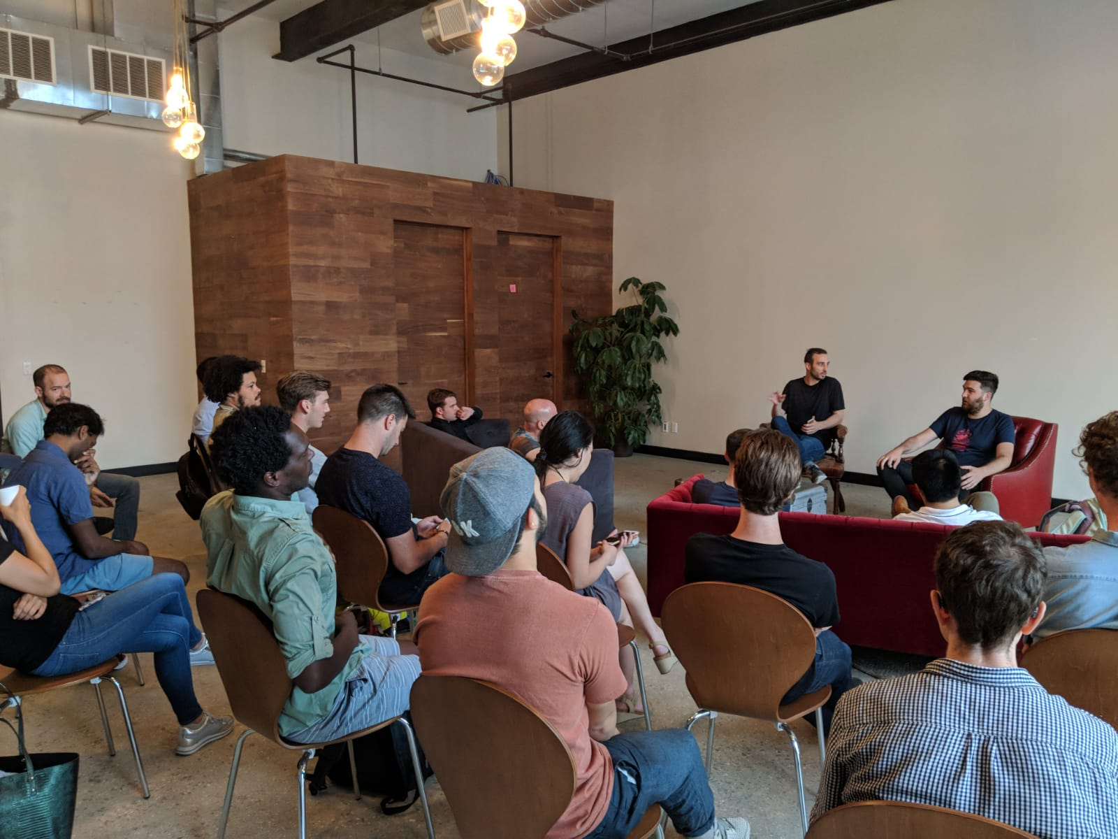 FOAM.space comes to do a presentation and meetup