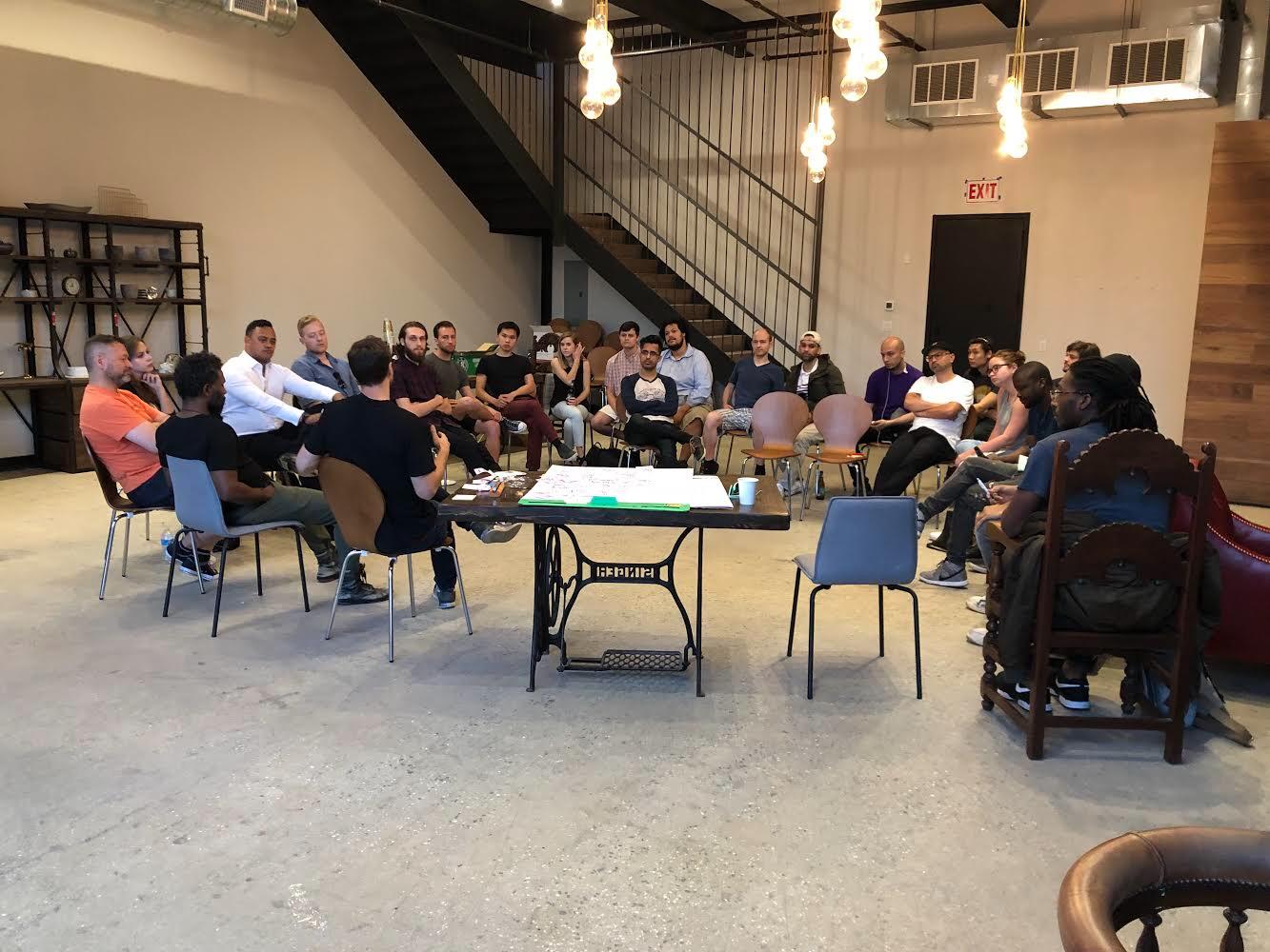 First Friday night community meetup - June 2018