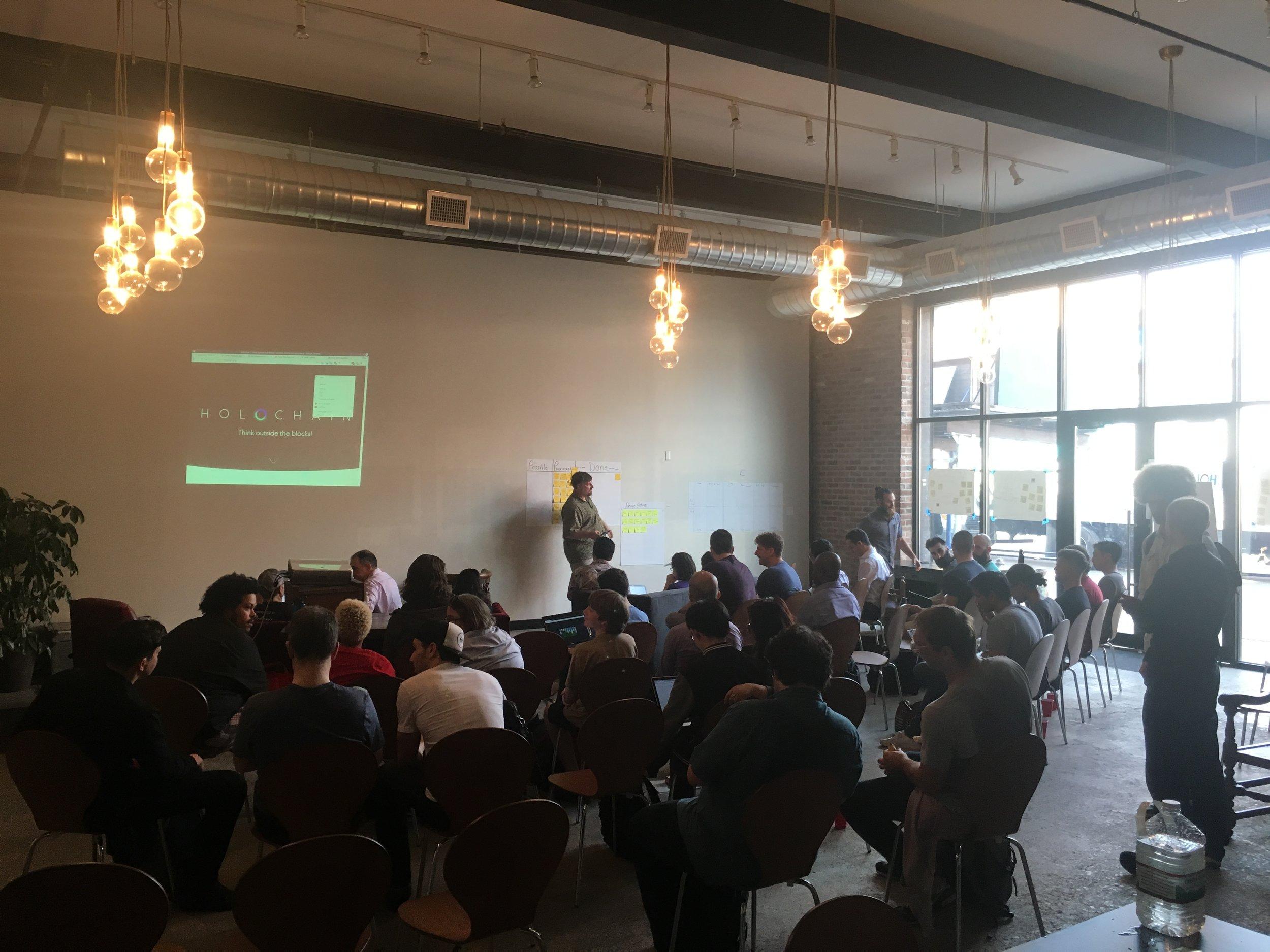 Holochain has their first hackathon