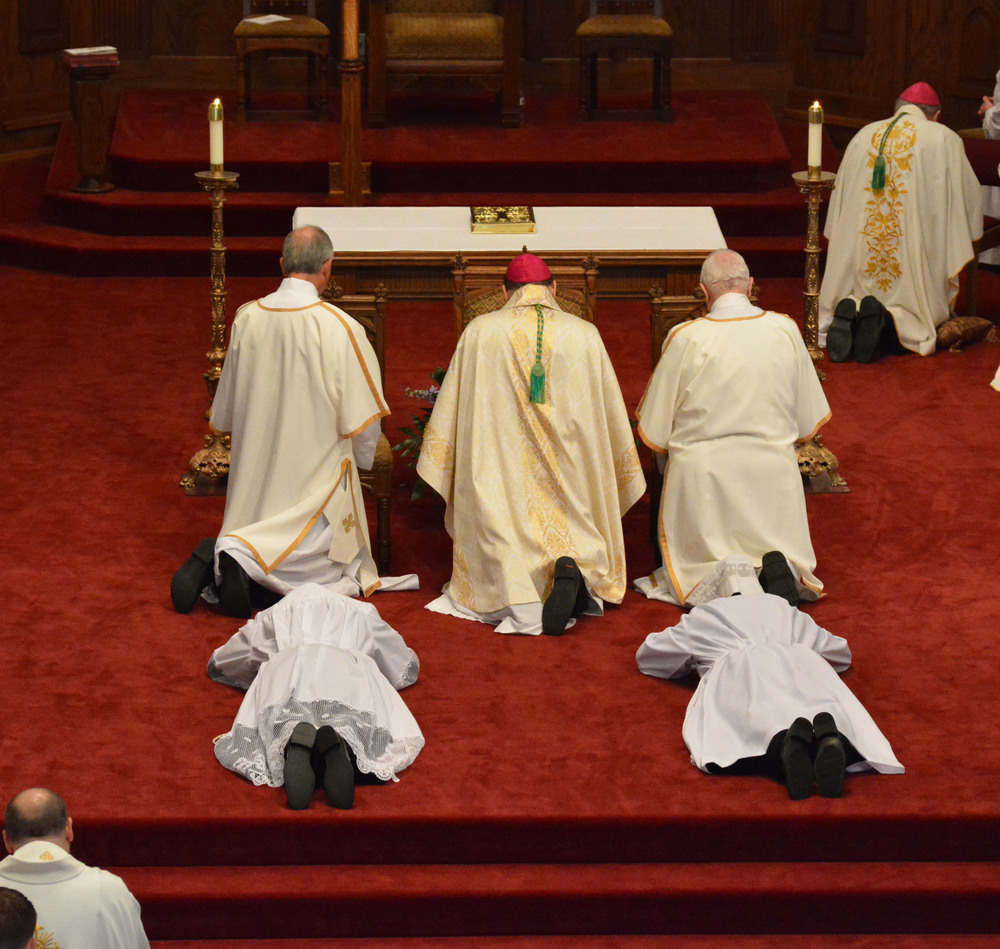 """ordination - Because of the """"priesthood of all believers"""" espoused by Martin Luther, ordination wasn't a sacrament because, simply, it wasn't required to be a believer. Although Protestants had clergymen, they weren't necessary in the same way as the Catholics."""