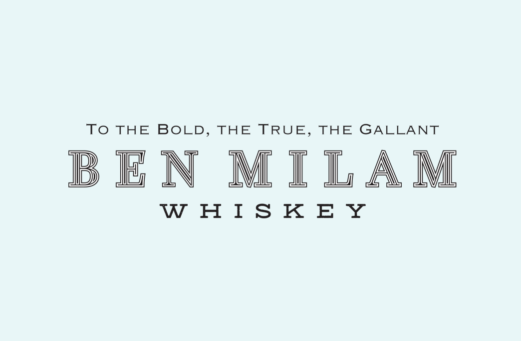 Ben Milam Whiskey Logo